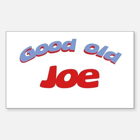 Good Old Joe Rectangle Decal