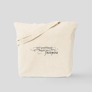 self proclaimed fanpire Tote Bag