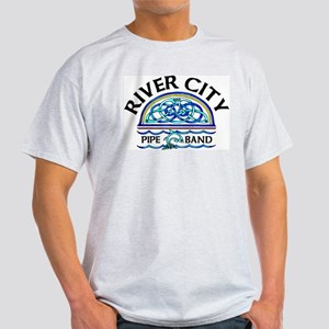 River City Logo + Dragon Ash Grey T-Shirt