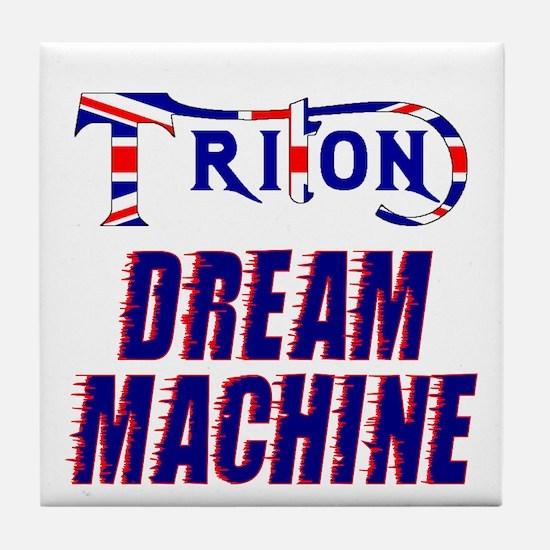 TRITON Dream Machine Tile Coaster