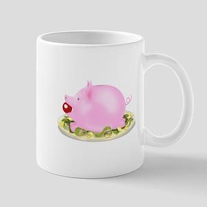 Suckling Piggy Bank Mug