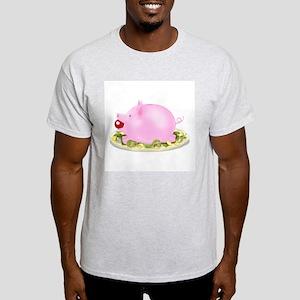 Suckling Piggy Bank Light T-Shirt
