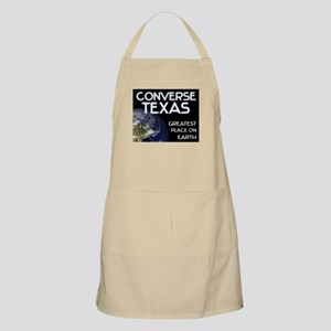 converse texas - greatest place on earth BBQ Apron