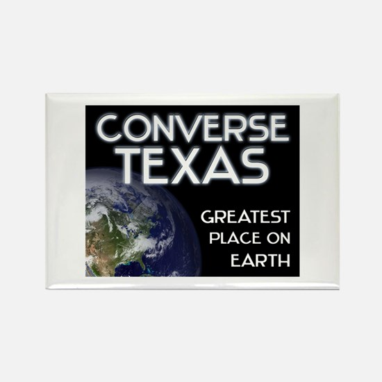 converse texas - greatest place on earth Rectangle