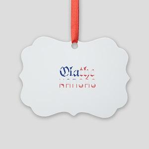 Olathe Kansas Picture Ornament
