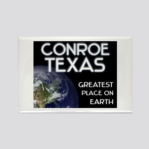 conroe texas - greatest place on earth Rectangle M