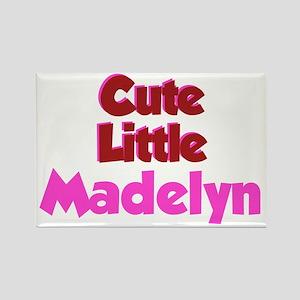 Cute Little Madelyn Rectangle Magnet