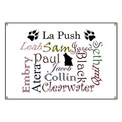 La Push Words Banner