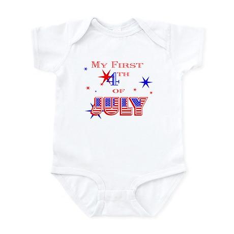 My 1st 4th Infant Bodysuit