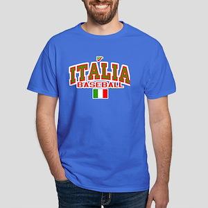 IT Italy Italia Baseball Dark T-Shirt