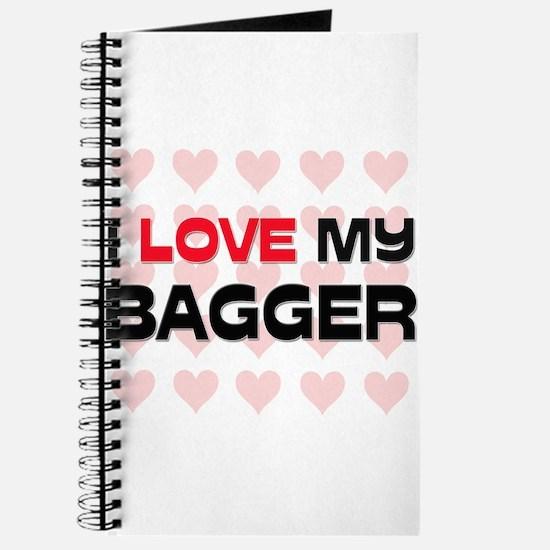 I Love My Bagger Journal