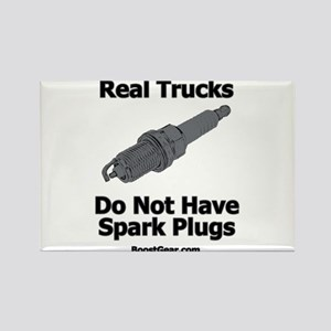Real Trucks - Spark Plugs Rectangle Magnet