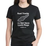 Real Trucks - Spark Plugs Women's Dark T-Shirt