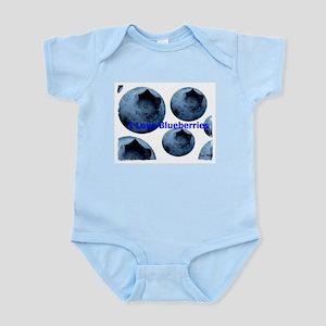 I Love Blueberries Infant Creeper