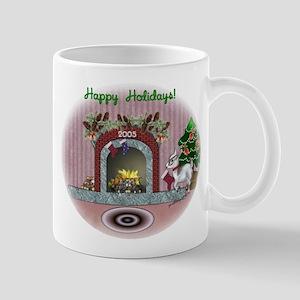 Pygmy Goat Christmas Mug