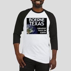 boerne texas - greatest place on earth Baseball Je