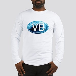 VB Vero Beach Wave Oval Long Sleeve T-Shirt