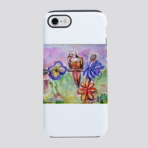 Dove! Desert! Southwest art! iPhone 7 Tough Case