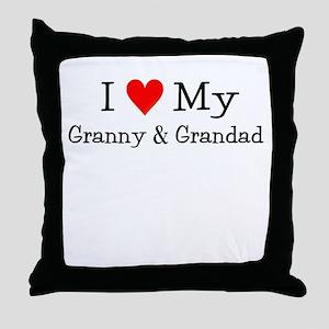 I Love My T Shirts: Throw Pillow
