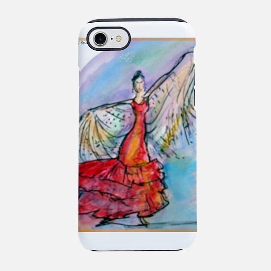 Flamenco dancer, art! iPhone 7 Tough Case
