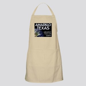 amarillo texas - greatest place on earth BBQ Apron