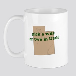 Pick a wife or two in UTAH Mug