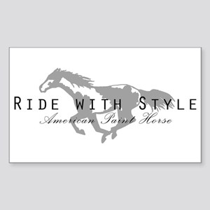 Paint Horse Rectangle Sticker