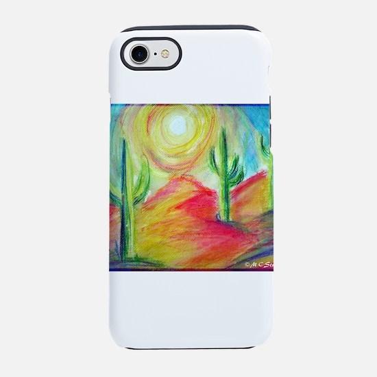 Desert, Southwest art! iPhone 7 Tough Case