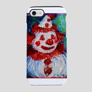 Clown! Colorful, fun, art, iPhone 7 Tough Case