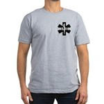 Medic EMS Star Of Life Men's Fitted T-Shirt (dark)
