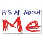 It's all about ME! Rectangle Sticker 10 pk)