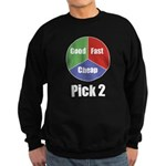 Good Fast Cheap Sweatshirt (dark)