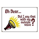 My Outside Voice Banner