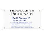 Film Dctnry: Roll Sound! Banner