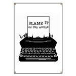 Blame the Typewriter Banner