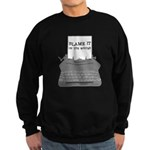 Blame the Typewriter Sweatshirt (dark)