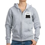 Blame the Typewriter Women's Zip Hoodie