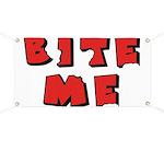 Bite Me! design Banner