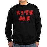 Bite Me! design Sweatshirt (dark)