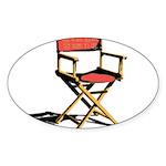 Film Brings Life Oval Sticker (10 pk)