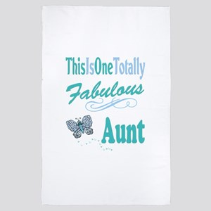 Totally Fabulous Aunt 4' x 6' Rug