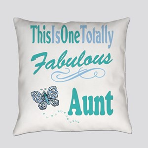 Totally Fabulous Aunt Everyday Pillow