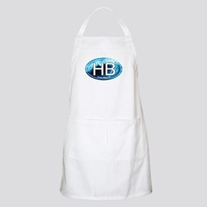 HB Holden Beach Wave Oval BBQ Apron