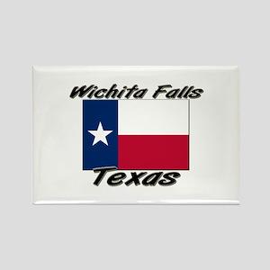 Wichita Falls Texas Rectangle Magnet