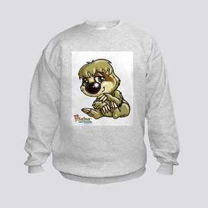 Baby Sloth Kids Sweatshirt
