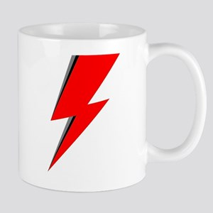 Lightning Bolt red logo Mugs