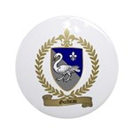 GUILBEAU Family Crest Ornament (Round)