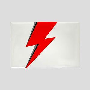Lightning Bolt red logo Magnets