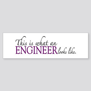 What an ENGINEER Looks Like Bumper Sticker