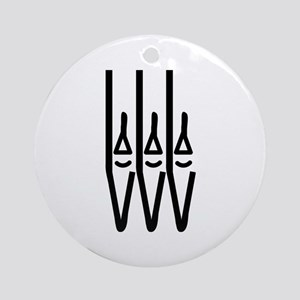 organ pipes Ornament (Round)